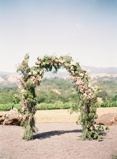 Photography: http://www.carliestatsky.com | Floral design: http://natashakolenko.com | Read More: https://www.stylemepretty.com/2017/12/28/an-elegant-napa-wedding-with-a-whimsical-twist/