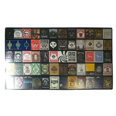 The Playing Card Frame - 60 Deck Acrylic Playing Card Display by Collectable Playing Cards - Our 60 deck display showcases your collectable playing card collection with class. Holds 60 of the most any sized decks. Overall dimensions of 31 x 20 inches with built in hanging clips for easy installation on most any wall. Our ... get it here: http://www.wizardhq.com/servlet/the-16119/the-playing-card-frame-60-deck-acrylic-playing-card-display-by-collectable-playing-cards/Detail?source=pintrest