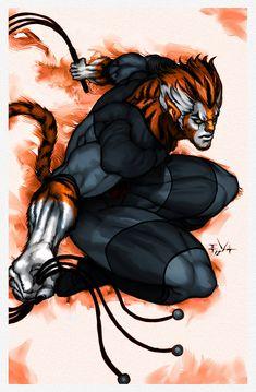 Thundercats Tygra by *ErikVonLehmann on deviantART
