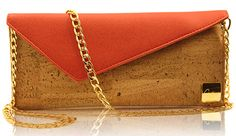 Porto – Portuguese Red #Red #Clutch #Fashion #EcoFriendly #Cork #Durable #Cute #Cortica http://corticalivingnature.com/product/porto-portuguese-red-clutch/