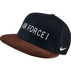 58b3208ddb74 RARE Mens Nike Air Force 1 Hunt True Snapback Hat 807829 010