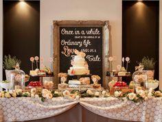 Cheese/dessert table