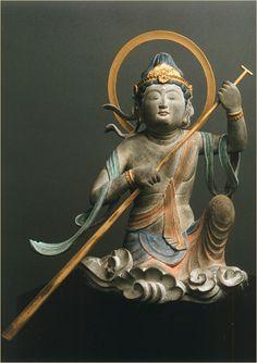 救世舟乗観音 Buddha Buddhism, Buddha Art, Zen, Non Plus Ultra, Symbolic Art, Buddhist Philosophy, Spiritual Images, Academic Art, Religious Icons