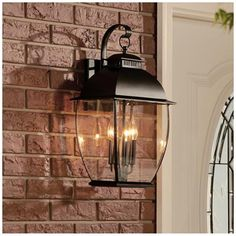 Quoizel Bain Mystic Black Large Outdoor Wall Lantern