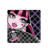 Snack time is more fang-tastic with Monster High Dessert Plates! These small Monster High paper plates feature Draculaura - perfect for a Monster High party! Cumple Monster High, Monster High Birthday, Monster High Dolls, Monster High Party Supplies, Kids Party Supplies, Preteen Birthday Parties, Disney Balloons, Birthday Plate, 8th Birthday