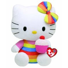 Ty Hello Kitty Beanie Babies Large - 13 in #HelloKitty  #BeanieBabies  www.empowernetwork.com/almostasecret.php?id=ethan1