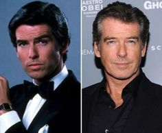 From 'Remington Steel' (l.) to James Bond, Pierce Brosnan has been steaming up big and small screens with his dashing good looks since the late '70s. And at 60, he's still going strong.
