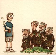 Troll 2 by Scott Campbell