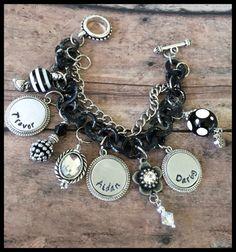 Personalized Washer Bracelet Hand Stamped Bracelet by SpeckledOwls