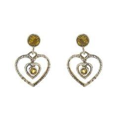 Ethnic Earrings Citrine Gemstone Handmade Silver Jewelry Indian by ShalinIndia, http://www.amazon.co.uk/dp/B00AZFXI7C/ref=cm_sw_r_pi_dp_HgSksb1JJJ1H2