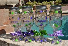 Personalized Redneck Wine Glass