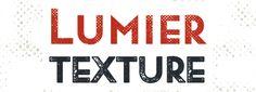 Lumier Texture font download