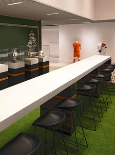 Knvb soccer association Boardroom Amsterdam Arena Stadium, concept design by www.day.nu