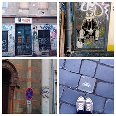Budapest: Streetart, Ruinpub, Shops - the proof of the pudding...