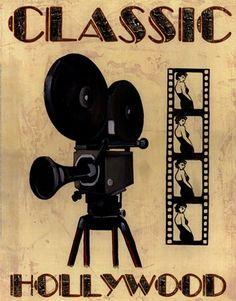 Classic Hollywood by Catherine Jones art print