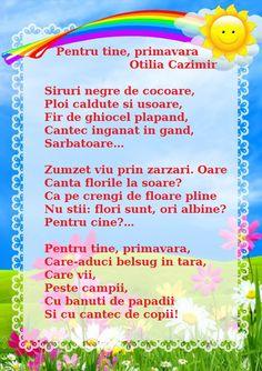 Pentru tine, primavara - de Otilia Cazimir