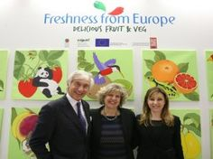 CSO Italy porta l'arte con Freshness from Europe #sanomangiare