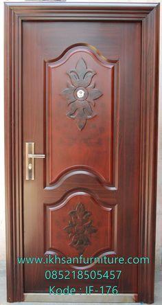 Wooden Main Door Design: 10 Solid Ideas For Your Indian Home. Wooden Front Door Design, Double Door Design, Wood Front Doors, Home Door Design, Door Design Interior, Single Main Door Designs, Modern Wooden Doors, Steel Security Doors, Indian Style