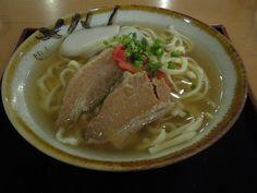 「大衆食堂 いかり屋」 の沖縄そば(並)