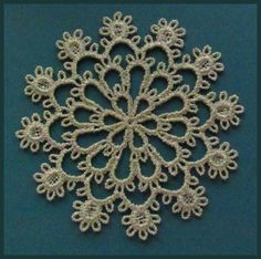 Tatting 72 - Snowflake Tatting Designs by Murphy's Designs