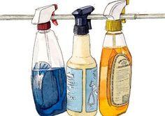 Casa limpinha, cheirosa e organizada.  Dicas de limpeza usando produtos feitos em casa como vinagre e bicarbonato de sódio.