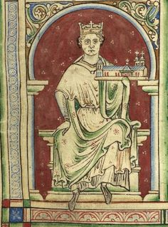 From the Medieval Manuscripts blog post ' #Magnacartas to be unified for the first time'. Image: Miniature of King John in Matthew Paris, Historia Anglorum: St Albans, c. 1250