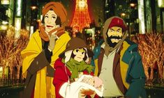 """Factory to Release Tokyo Godfathers Anime Film on BD GKIDS Shout! Factory to Release Tokyo Godfathers Anime Film on BD Satoshi Kon's film gets BD release including """"Ohayo"""" short bonus Woody, Japan In November, Tokyo Godfathers, Satoshi Kon, Anime Release, L Anime, Anime Dvd, Film Story, Gekkan Shoujo"""