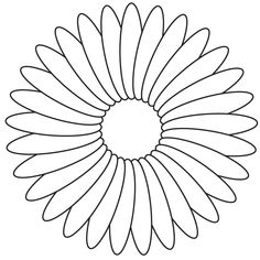 Image Detail For Daisy Flower Stencil Free Daisy Flower Stencil To