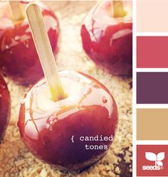 {candied} tones