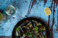 """""""Summer is close enough"""". Island Holidays, Mussels, Greece, Eat, Summer, Food, Greece Country, Summer Time, Essen"""