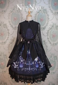 NyaNya Lolita [The Northern Cross - Cygnus] Lolita OP Dress
