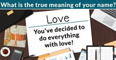 What is the true meaning of your name?Alexandra, your name is a part of your identity, but what it really means could be compared to the icing on a cake.   The true meaning of your name is Love, because You've decided to do everything with love!