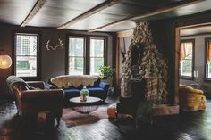 Dreamy, Rustic Modern Style at Foxfire Mountain House — Hotel Tour