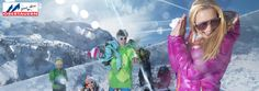 Tourism Obertauern campaign, 2012. Photographer Juergen Knoth. skiing, winter, snow, freestyle, ski fashion, Austria, Alpes, mountains, snowball
