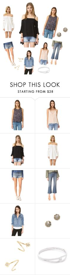 """""""Trendy Look..**"""" by yagna ❤ liked on Polyvore featuring Current/Elliott, Anine Bing, re:named, rag & bone/JEAN, Siwy, DL1961 Premium Denim, Rebecca Minkoff, Jules Smith, Kate Spade and vintage"""