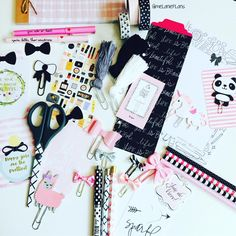 melanieplans: I love pulling tons of coordinating planner goodies together to see what I am going to use in the coming week. Anyone else do this? #planneraddict #plannergoodies