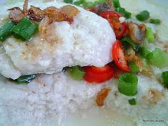 No-Frills Recipes ... cooking, baking & excerpts on travel: Steamed Tofu with Fish Paste
