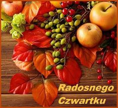 Red Leaves Berries And Apple Wallpaper