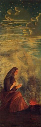 Les 4 saisons, hiver - The Four Seasons, Winter, Paul Cezanne, 1861.