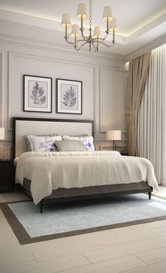 Master Bedroom Design Idea Picture Luxury 57 New Trend and Modern Bedroom Design Ideas for 2020 Part Luxury Bedroom Design, Master Bedroom Design, Master Bedrooms, Luxury Master Bedroom, Bedroom Neutral, Bedroom Designs, Trendy Bedroom, Cream Bedroom Walls, White Bedrooms