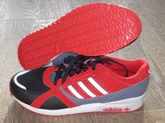NEW ADIDAS T ZXZ 700 Originals MENS 11 Red Black Gray NWT #adidas #Athletic