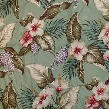 tropical print bark cloth - Google Search