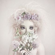 *flora* by ♥ ribonita & chocolat ♥ - busy oh so busy!, via Flickr