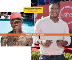 AAAAWWWWWW SH*T . . . It's Going DOWN!!! Some NFL Player Is THREATENING Rapper YG On Instagram . . . He's Trying To TRACK DOWN THE RAPPER . . . To Get THAT FADE!!!