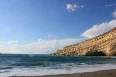 Matala beach in Heraklion - Greece