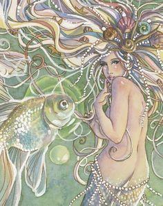 mermaids, mermaid