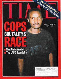 TIME MAGAZINE MARCH 6 2000 3/6/2000 COPS BRUTALITY & RACE Diallo Verdict LAPD