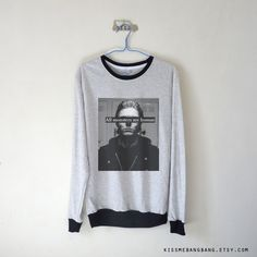 All Monsters Are Human - Tate Langdon Sweatshirt $15.99 ; American Horror Story Sweater ; #AHS #EvanPeters #Grunge #AmericanHorrorStory Shop AHS Collection at http://kissmebangbang.com/product-category/american-horror-story