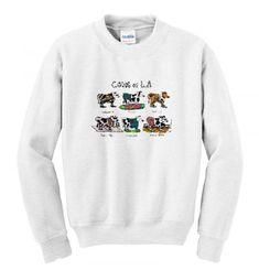 Vintage 90s Cows of LA sweatshirt SN