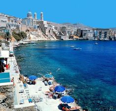 Syros Island, Greece- Asteria beach